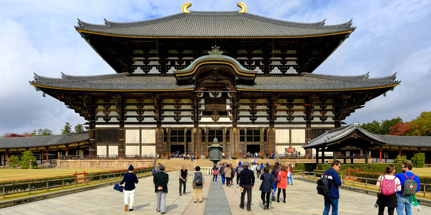 Tōdai-ji is a Buddhist temple complex, that was once one of the powerful Seven Great Temples, located in the city of Nara, Japan